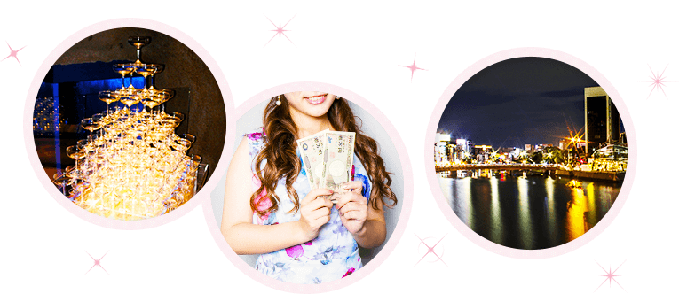 中洲は西日本最大の繁華街です。